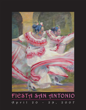 San Antonio Fiesta Poster