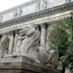 Standing Guard at the New York Public Library