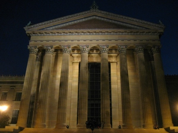 Philadelphia Museum of Art at Night