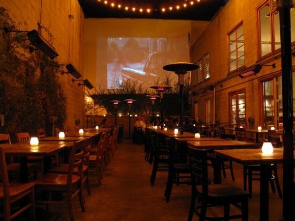 Candlelight Dinner - Foreign Cinema SF
