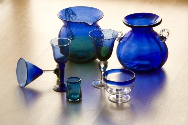 Mexican blown glass