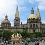 Guadalajara Cathedral in the Central Historic District