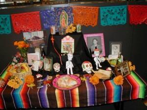 Dia de Muertos altar