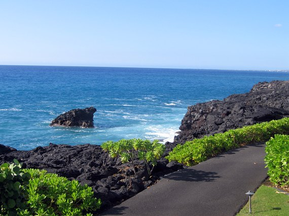 Kona on the big island of Hawaii