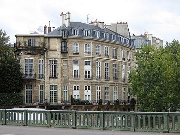 A Paris neighborhood