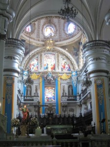 Altar of Guadalajara Cathedral