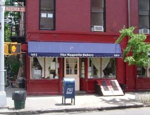 The Magnolia Bakery exterior