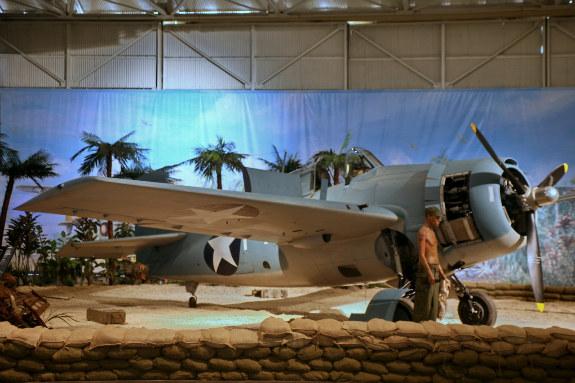 Grumman F4F-3 Wildcat at Pacific Aviation Museum Hawaii