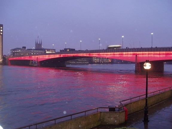 London Bridge London at night