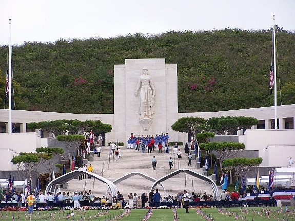National Memorial Cemetery of the Pacific - Punchbowl