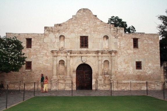 The Alamo . San Antonio, Texas
