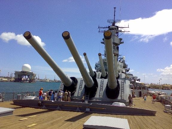 US Battleship Missouri The Mighty Mo