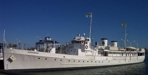 USS Potomac, the Floating White House