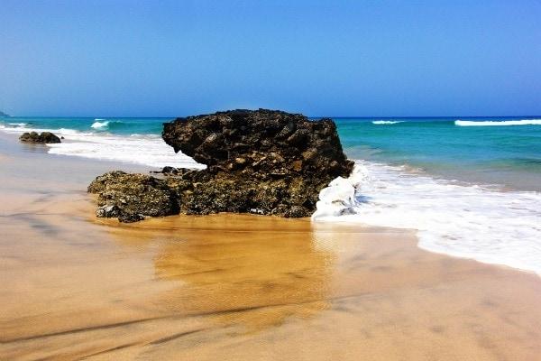 Jandia beach fuerteventura spain
