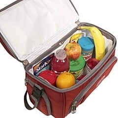 interior of crew cooler bag