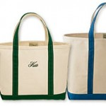 Boat and Tote Bags from L.L. Bean