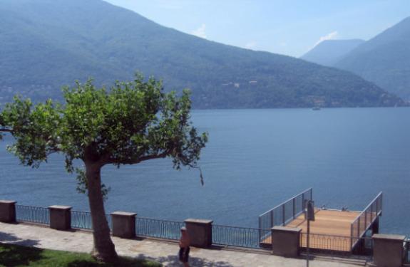 Maccagno on Lake Maggiore, Italy