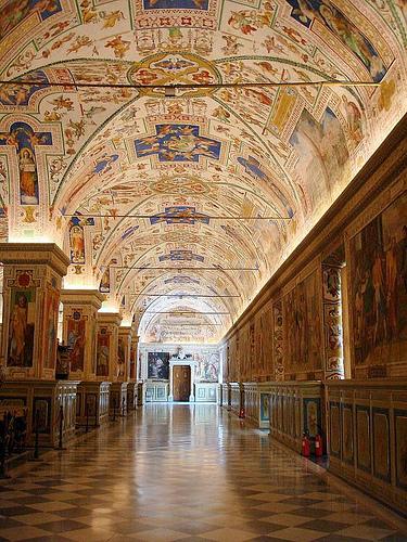 Hallway at the Vatican