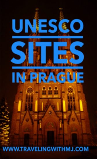 unesco sites in prague