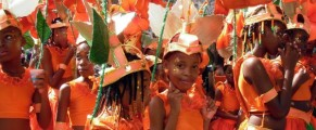 Junior Kadooment at Barbados Crop Over