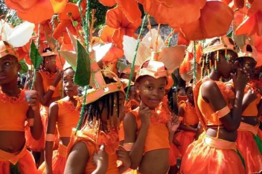 Junior Kadooment at Barbados Crop Over