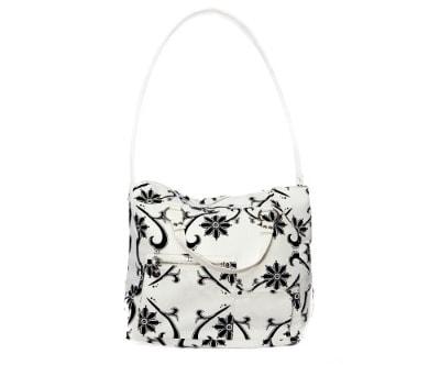 Lockabye black&white bag