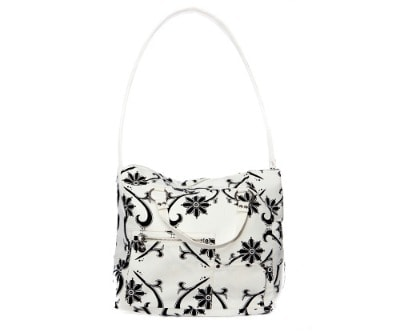 Lockabye black&white bag