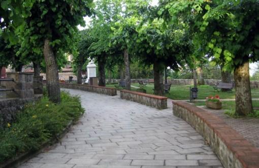 Radicofoni walkway Italy