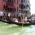 Italian Vacation: Gondolas in Venice