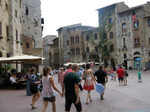 Piazza in San Gimigniano