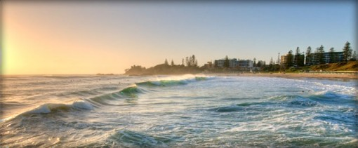 Port Macquarie Beach in Australia
