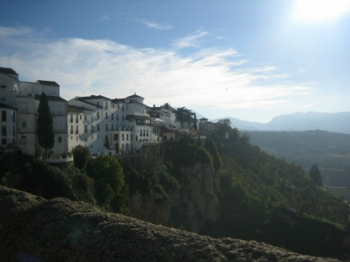 Gorge in Ronda, Andalucia Spain