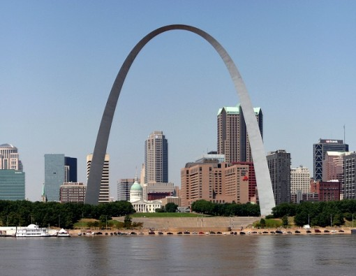 St. Louis Arch at Jefferson National Expansion Memorial