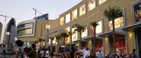 exterior of Dubai Mall