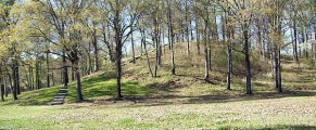 mound at Poverty Point Historic Site, Louisiana