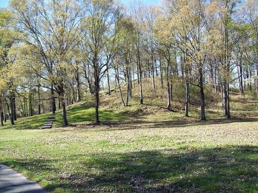 mound at Poverty Point Historic Site, Louisiana