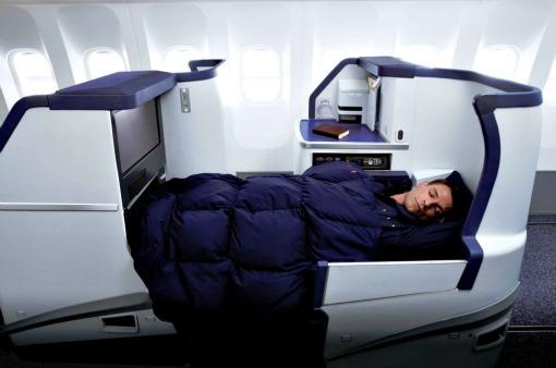 787 business lie flat seats ANA