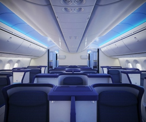 787 interior ANA