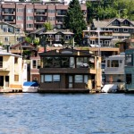 Postcard from Seattle:  Lake Union Floating Homes