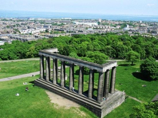 National Monument and Carlton Hill Edinburgh