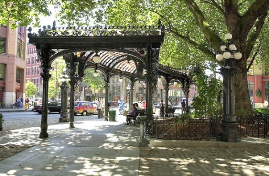 Things to do in Pioneer Square: Visit the Pergola