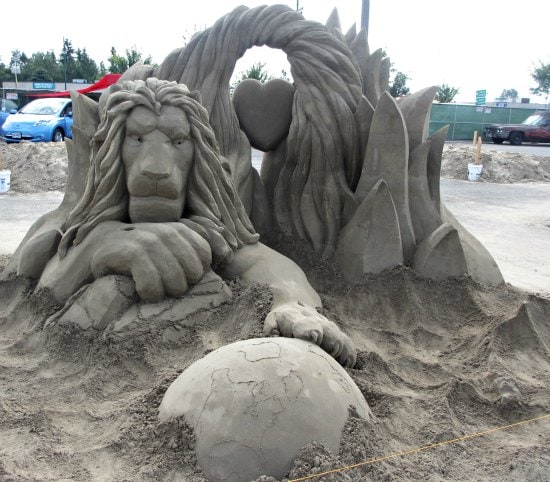 tournament of champions of sand sculpting