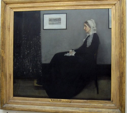 Whistlers Mother at the D'Orsay
