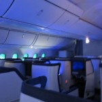 Postcard from the Air:  ANA Dreamliner at 40,000 Feet