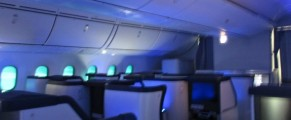 Interior ANA Dreamliner