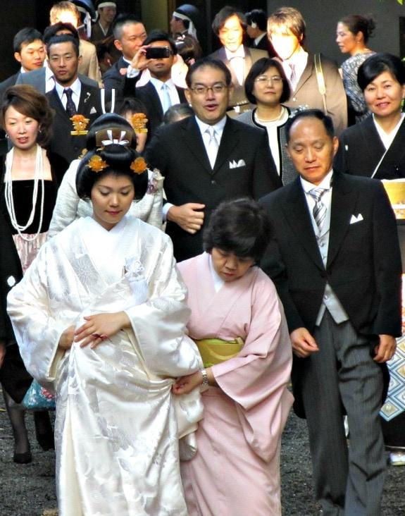 wedding party in Tokyo