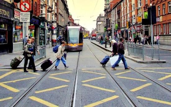 Abbey Street, Dublin, Ireland TBEX