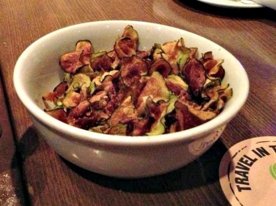 zucchini chips at Bar NoRTH Scottsdale Arizona