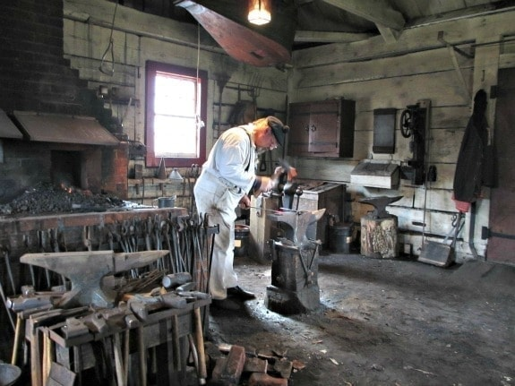 The Blacksmith shop at Fort Vancouver