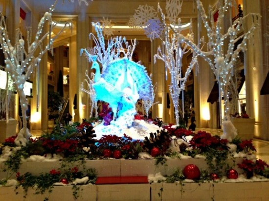 Christmas Display at Venetian, Las Vegas
